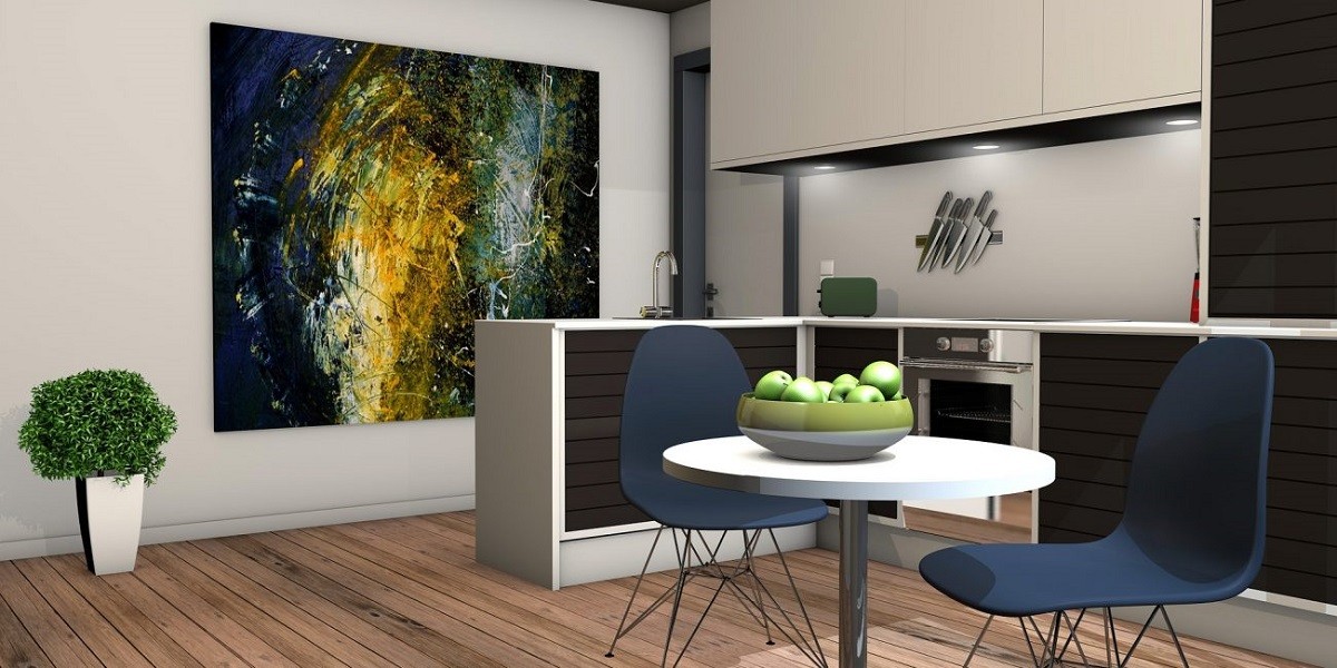 Decorative wall panel for your kitchen